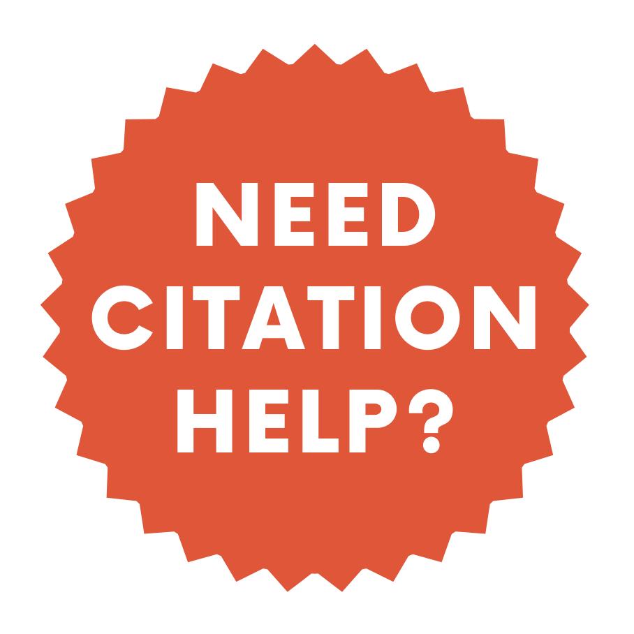 Need Citation Help?