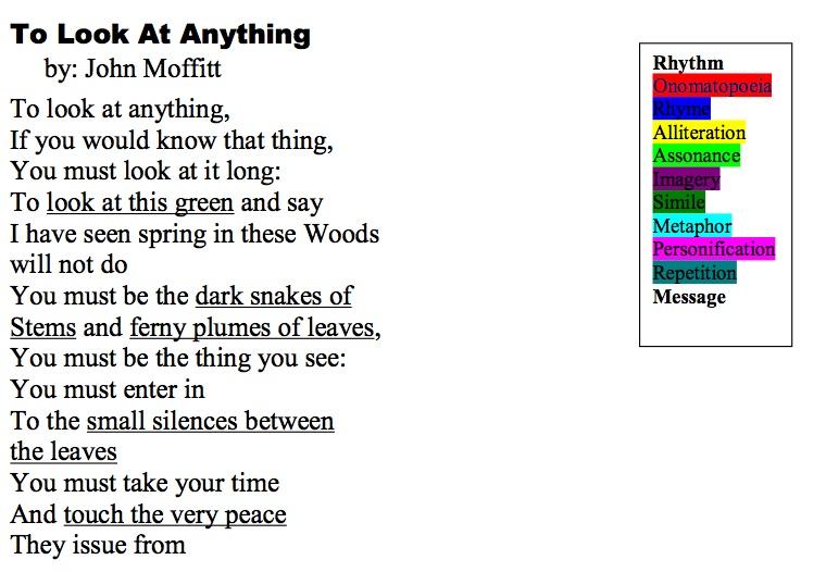 Poetry Imagery And Figurative Language | Wordpress
